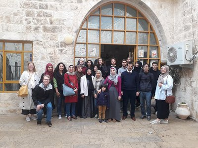 The Arabic for Non-Native Speakers Institute Organizes a Trip to Jenin and its Villages